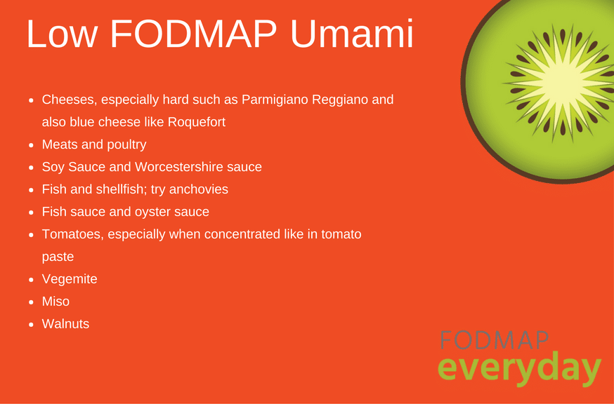 Low FODMAP Umami products