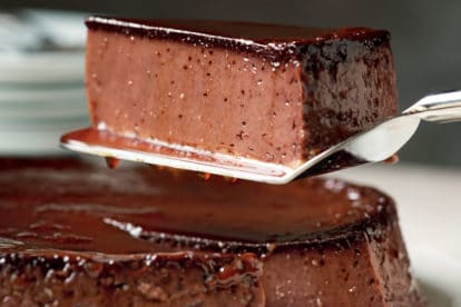 Chocolate Almond Flan