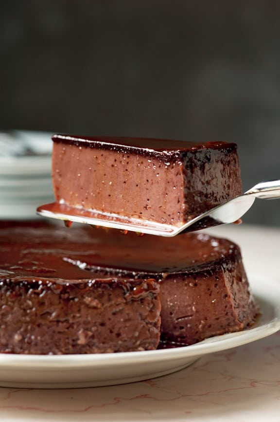 Chocolate Flan from Always Room for Chocolate