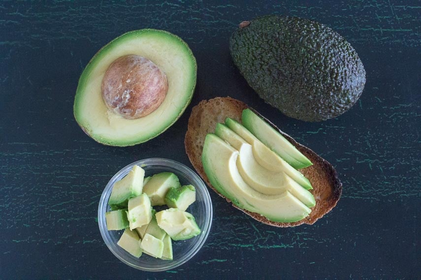 This is what 30 grams of avocado looks like