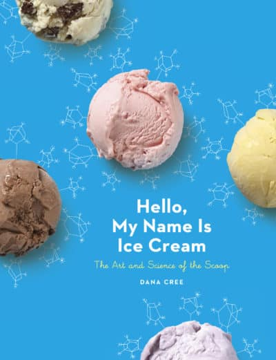"Cookbook Cover to ""Hello, My Name is Ice Cream"""