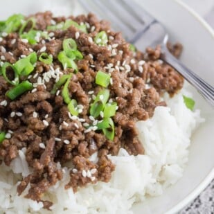 low FODMAP super quick korean beef