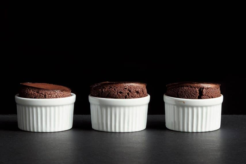 Chocolate soufflés -FODMAP IT!