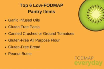 Top 6 Low FODMAP Pantry Items