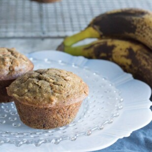 2 Glorious morning muffins and a banana