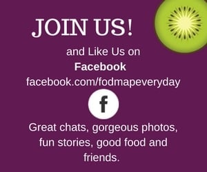 Join FODMAP Everyday on Facebook!