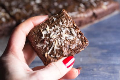 Toasted Almond flour brownies copy