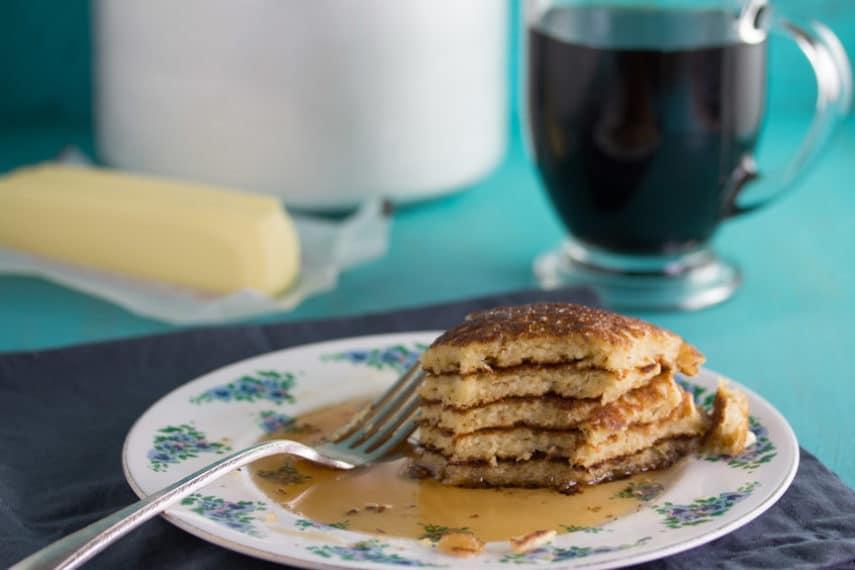 Low FODMAP Buttermilk Oat Pancakes