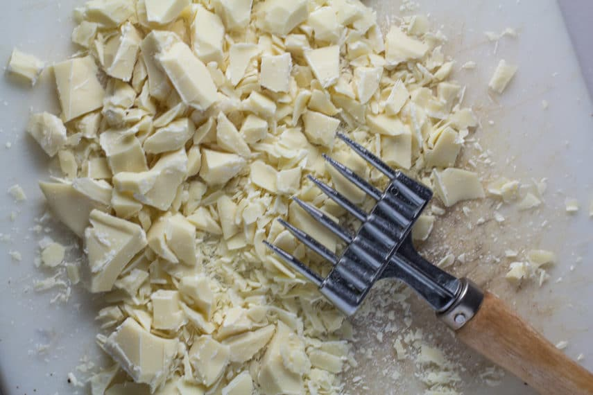 chocolate chopper chopping white chocolate. All About white chocolate