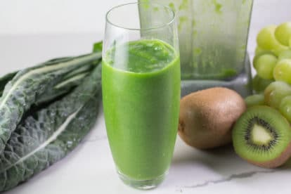 Low FODMAP kiwi smoothie