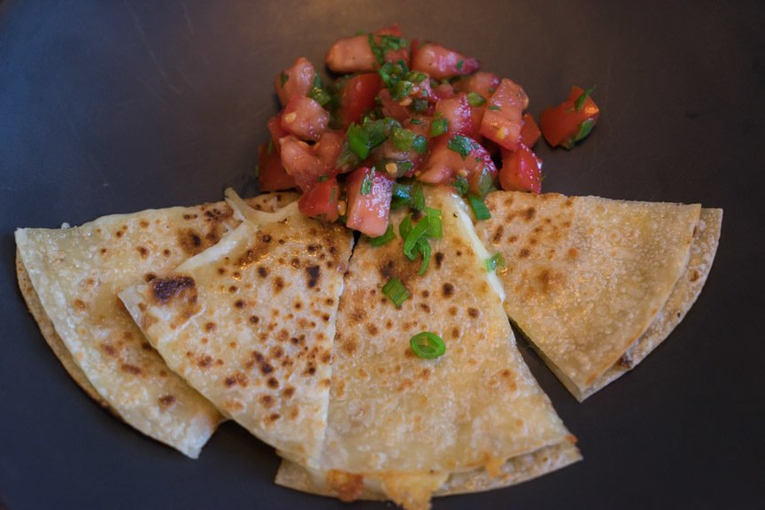 Gluten Free Cheesy Quesadillas with Fresh Salsa