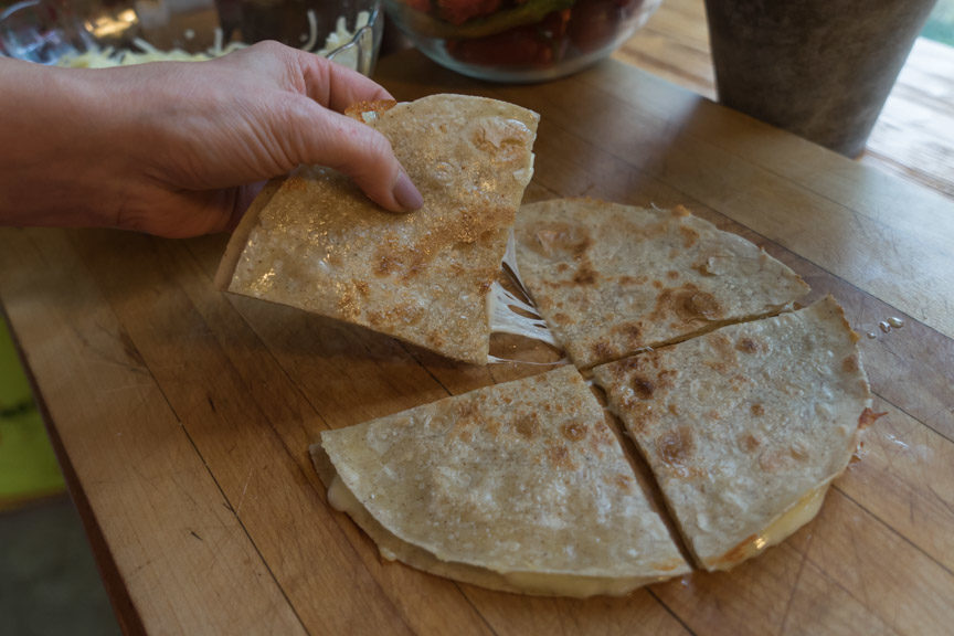 Easy Cheesy Quesadillas
