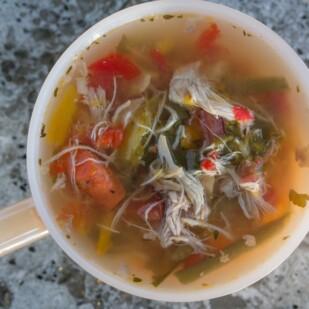 sick day soup