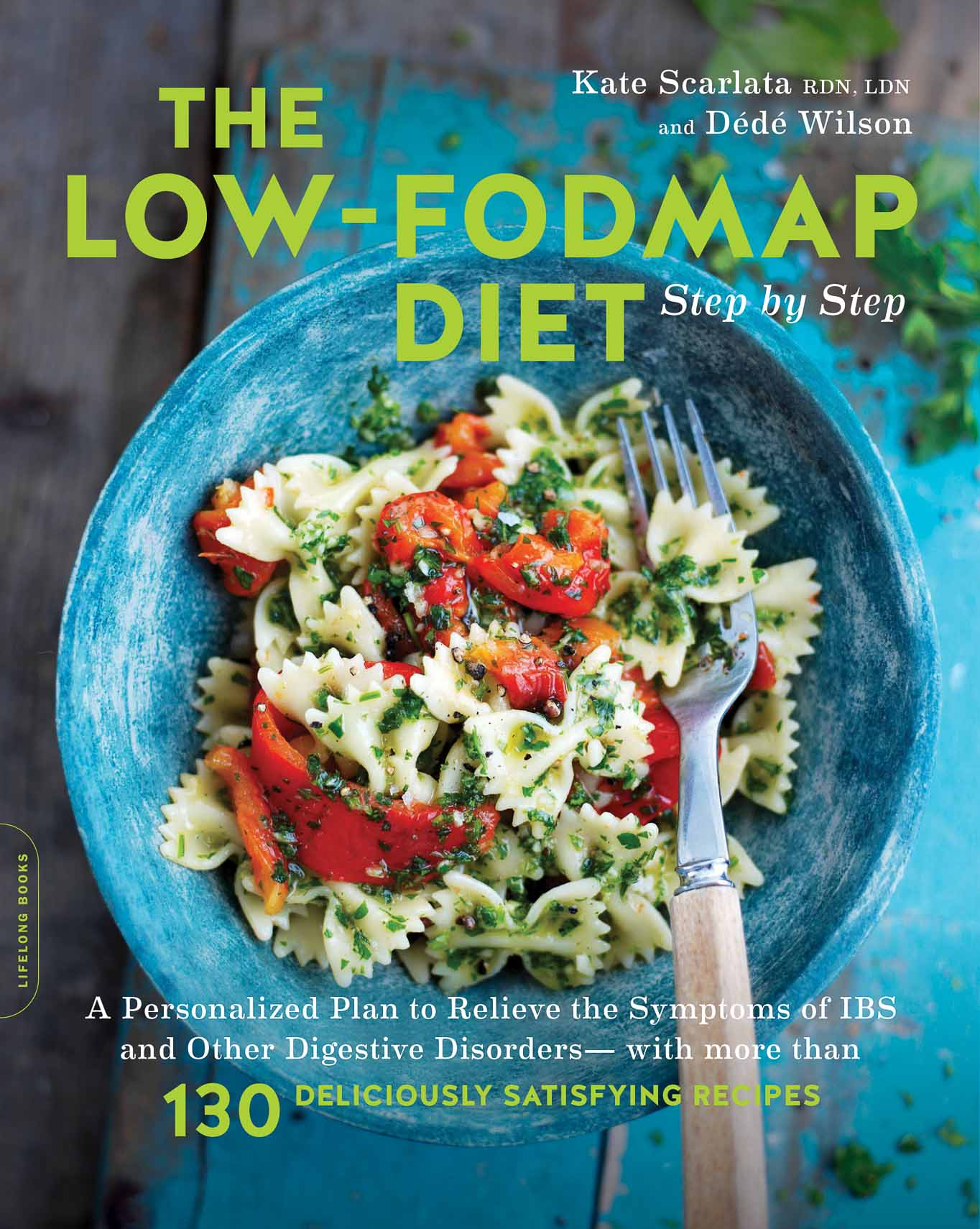 High Resolution Book Cover Low FODMAP Diet Step by Step
