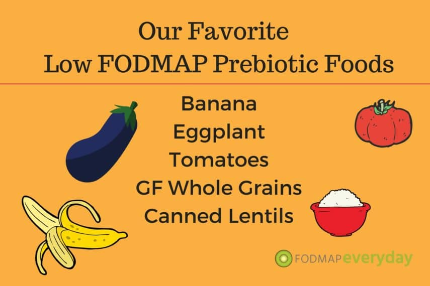 Our Favorite Low FODMAP Prebiotic Foods