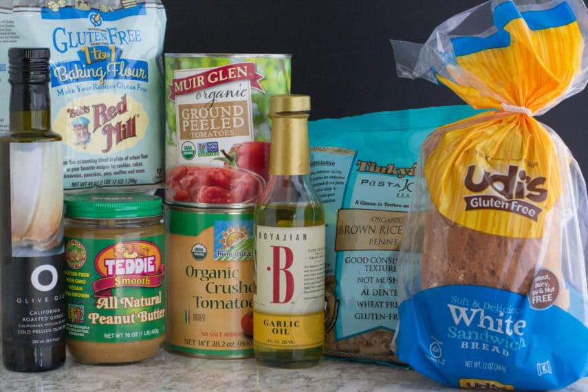 Stock up on low FODMAP pantry items