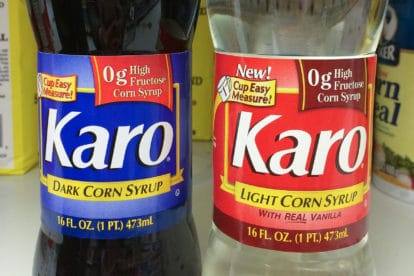 Karo Corn Syrup Dark and Light - no high fructose corn syrup