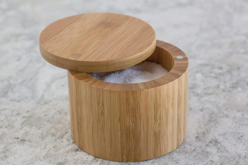 bamboo salt crock