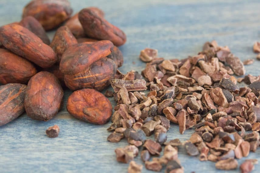 cacao beans & cacao nibs