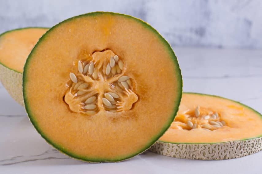 Cantaloupe Melon Fodmap Everyday Extract from cantaloupe's peel and seeds has been shown to prevent the growth of tumor cells of the kidney, colorectal area, and cervical area. cantaloupe melon fodmap everyday