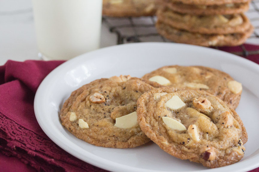Espresso White Chocolate Chunk Cookies - FODMAP Everyday
