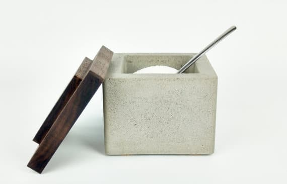 Concrete Salt Cellar- available on Etsy