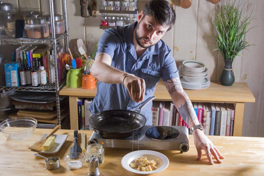 Freeman Wilson seasoning Gnocchi