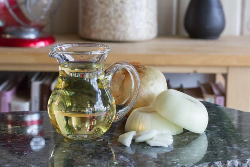Low FODMAP Onion Infused Oil Recipe