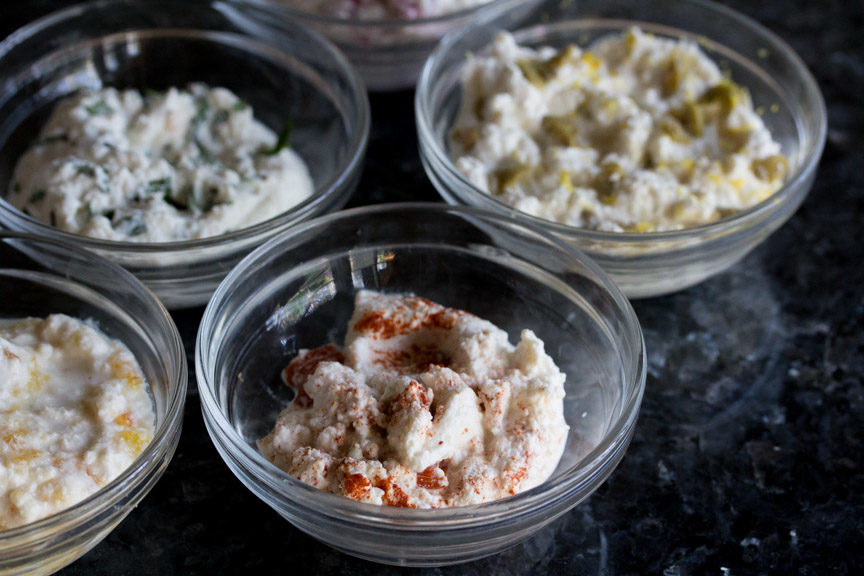 Roasted Red Pepper & Smoked Paprika Ricotta Spread