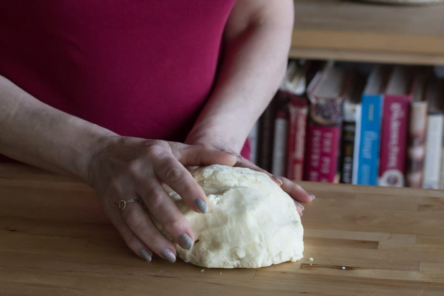 all butter pie crust shaping
