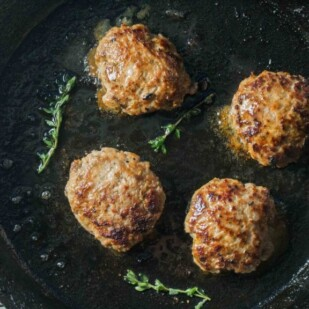 Low FODMAP Pork Breakfast Sausage- Low FODMAP