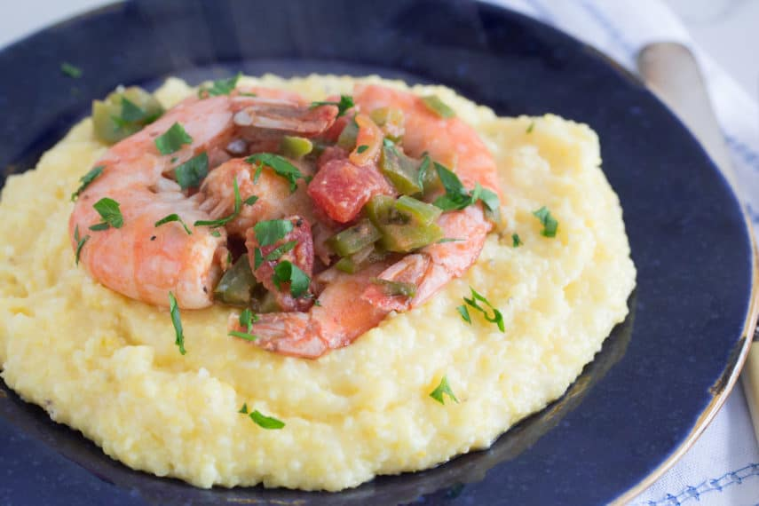 Low FODMAP Shrimp and Grits