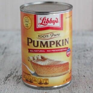 can of libbys pumpkin