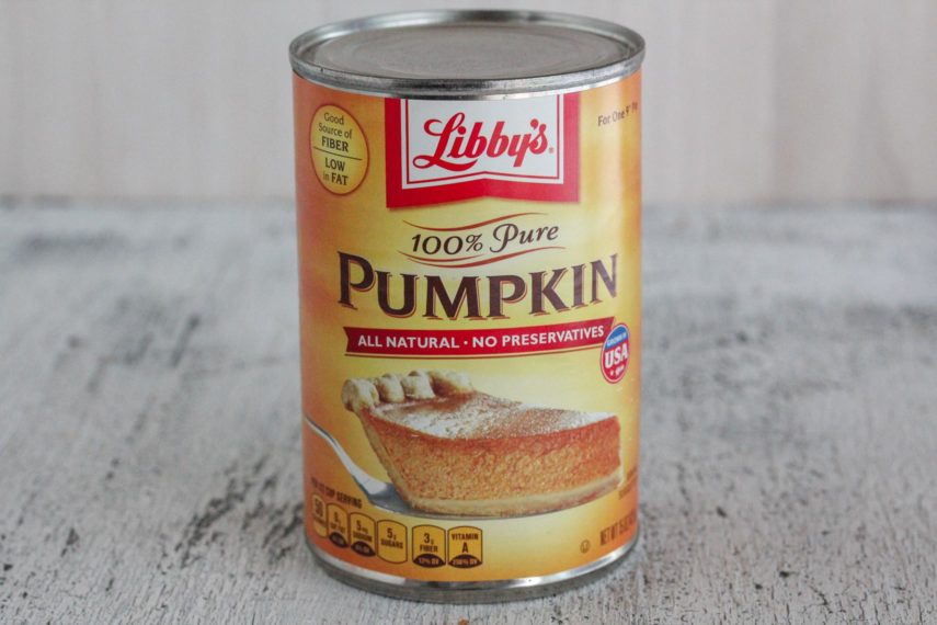 can of libbys pumpkin
