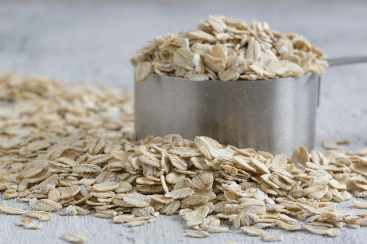 oats closeup