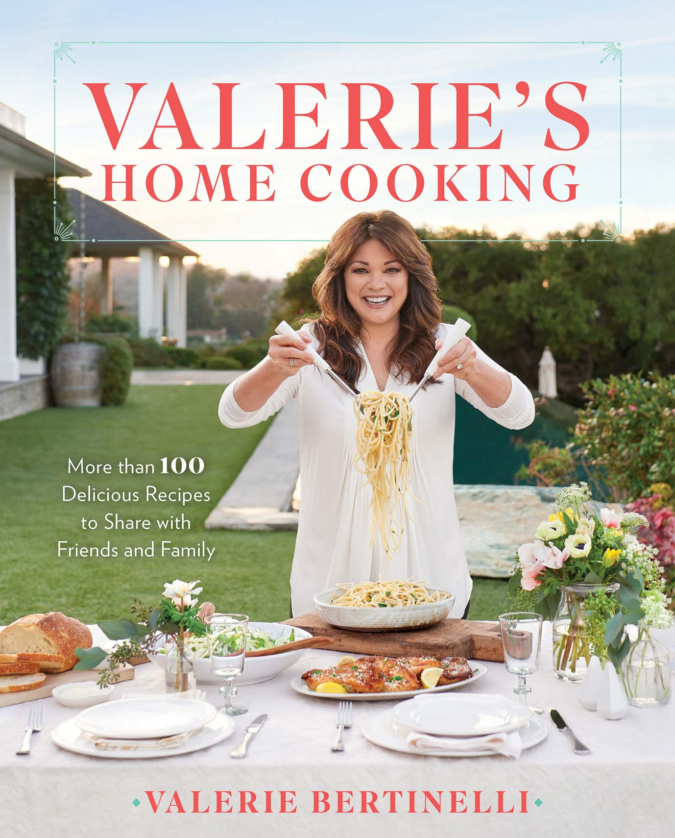Cover of Valerie's Home Cooking cookbook. Tom's Espresso Ribeye featured