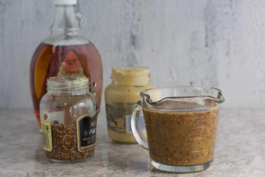 Maple Mustard Sauce ingredients