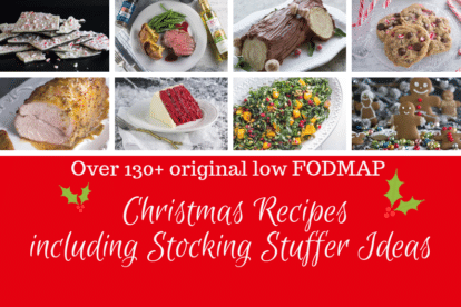 130+ Low FODMAP Christmas Recipes