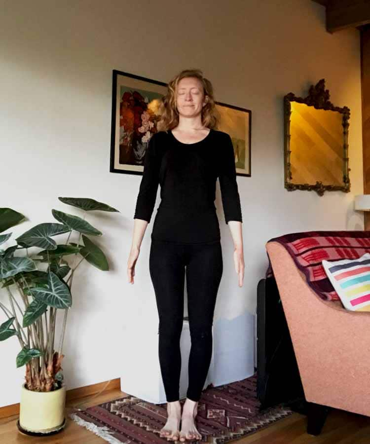 Mountain Pose- Tadasana - IBS & Yoga Series: Developing a Practice