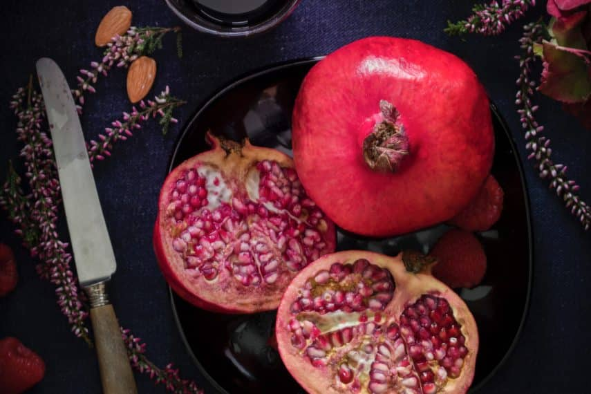 IBS & Yoga: Kitchen Yoga - Cutting pomegranates