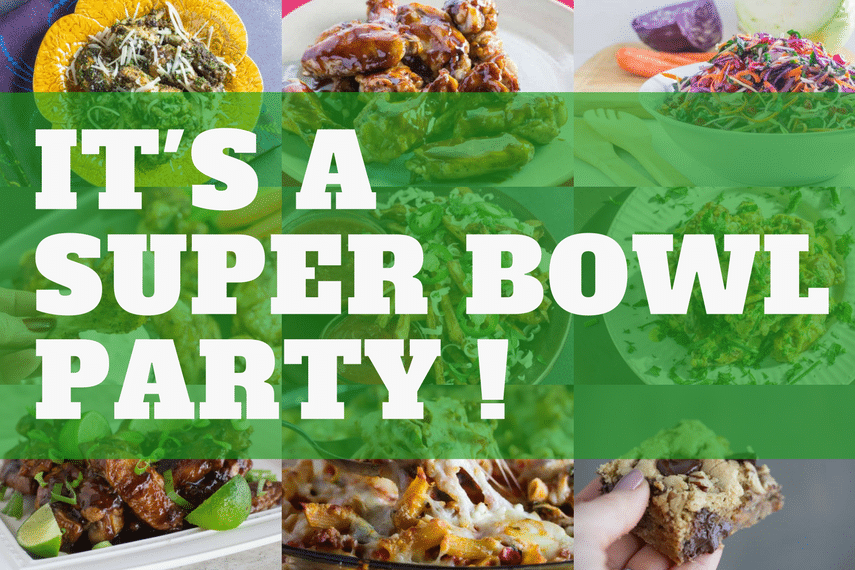 Low FODMAP Super Bowl Party Recipes