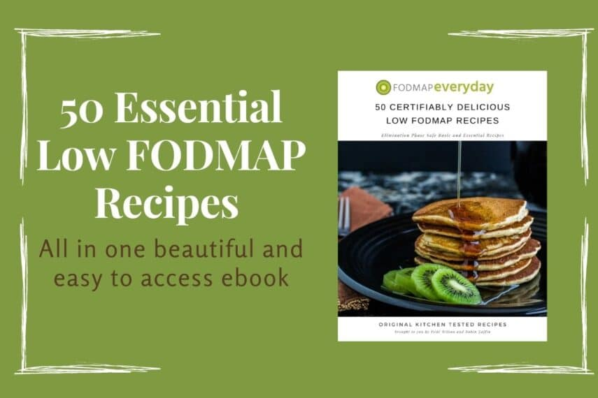 Feature image of 50 Certifiably Delicious Low FODMAP Recipes ebook