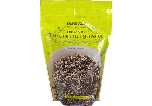 Tricolor Quinoa -Check out our Trader Joe's Low FODMAP Shopping List- Free PDF Download!