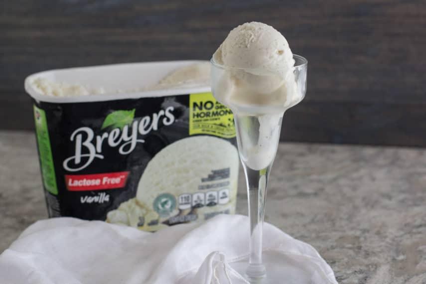 breyers lactose-free vanilla ice cream