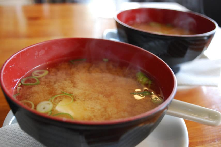 Miso Soup - How Fermentation Affects the FODMAP Content in Soy Foods and Cabbage- FODMAPS and FOOD PROCESSING SERIES- www.fodmapeveryday.com