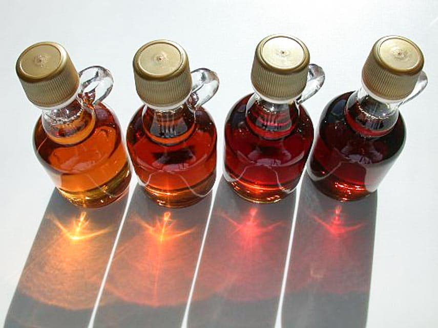 grades and colors of maple syrup