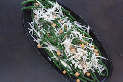 Fresh Green Bean, Chickpea & Jicama Salad