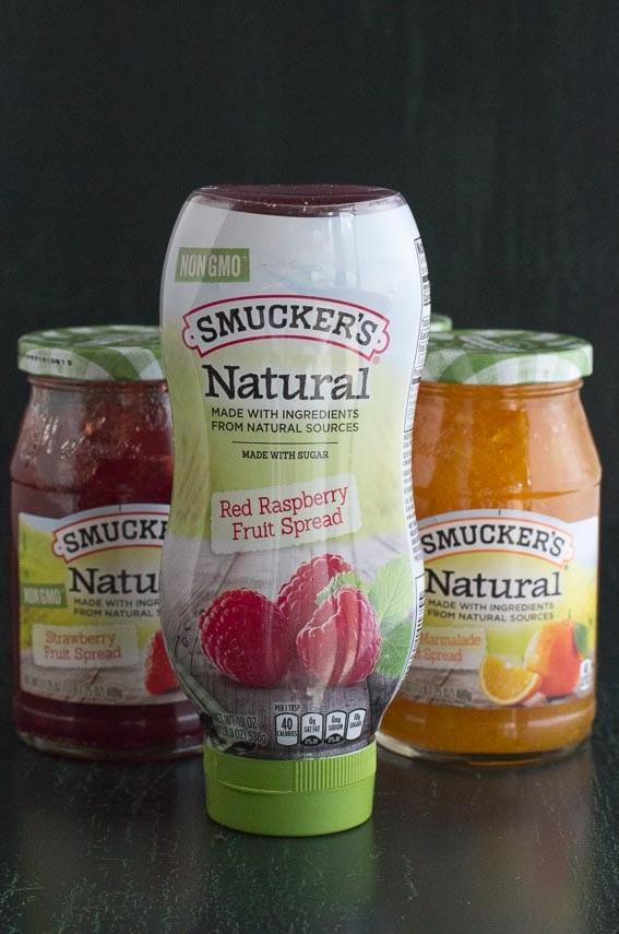Smucker's Natural squeetze bottle and jars