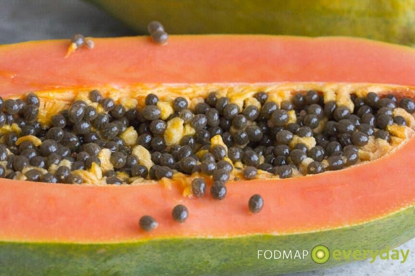 papaya closeup
