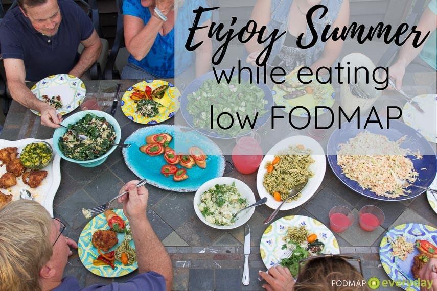 Enjoy summer while eating low FODMAP